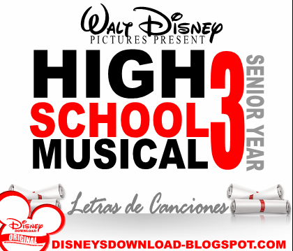 letras de high school musical en ingles y: